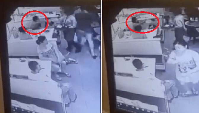 Angry Customer at Kota Kinabalu Restaurant Threw Drinks At Waitress Because of French Fries - World Of Buzz