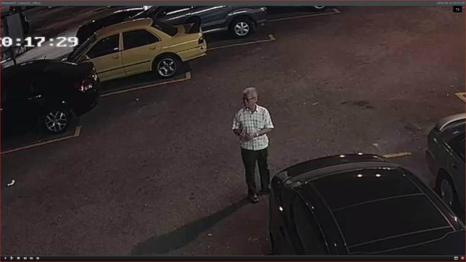 CCTV Footage Catches Elderly Uncle Robbing Car In Kuchai Lama, Makes Off With Laptop Bag Amidst Pedestrians - World Of Buzz 1