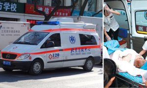 Chinese Ambulance left body by the Roadside after realizing he was already Dead - World Of Buzz 2