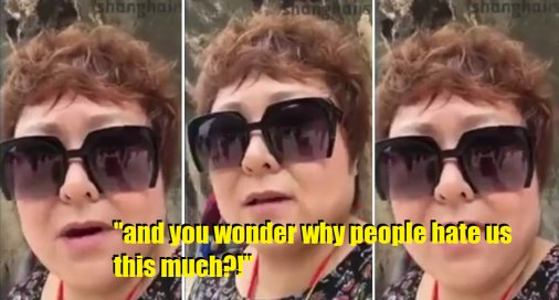 Chinese Woman Calls Out China Tourists for Unacceptable Behaviour, Even Cursing Them for it - World Of Buzz