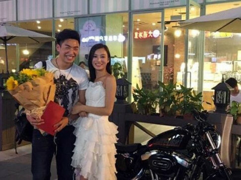 Girlfriend Pulls Of Dream Proposal To Her Boyfriend By Riding Up In A Harley And Offering A Property Deed - World Of Buzz