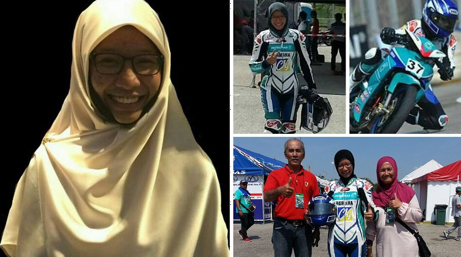Haters Lashed Out at Female Racer's 'Inappropriate' Gear, Malaysians Unite In Support Of Her - World Of Buzz