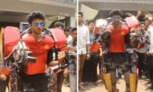 Indian Tony Stark creates Iron Man Suit - World Of Buzz 2
