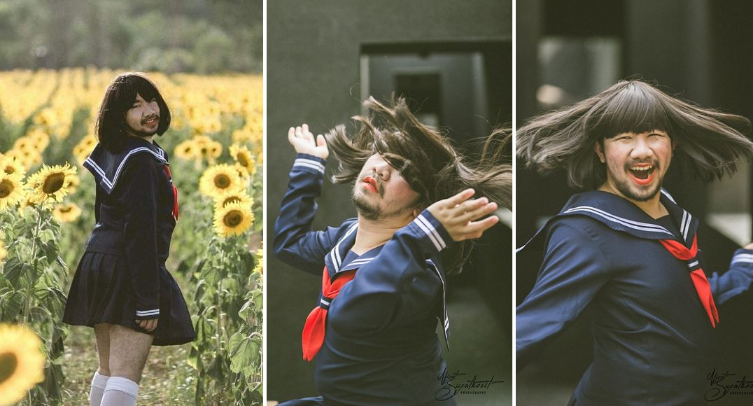 'Japanese Girl in Sunflower Field' Has The Internet Is Going Wild and It's Hilariously Amazing! - World Of Buzz 12