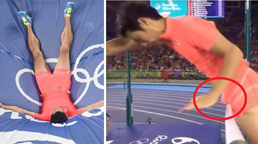 Japanese Pole Vaulter Hiroki Ogita Knocked Out Of The Olympics By His Own Manhood - World Of Buzz 3