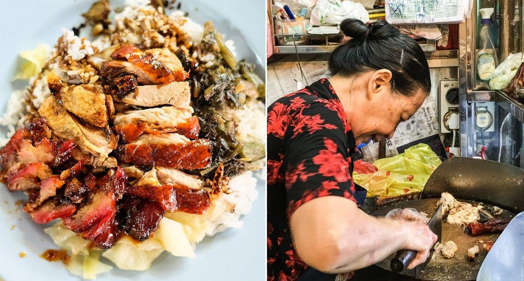 Kind Hearted Hawker Aunty Hailed For Her Generosity, Diligently Cuts Out Coupons For Free Meals For The Elderly - World Of Buzz 4
