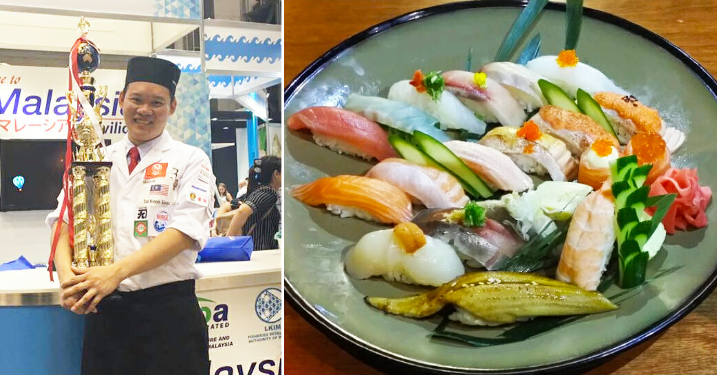 Malaysian Wins Second Place In World Sushi Competition - World Of Buzz