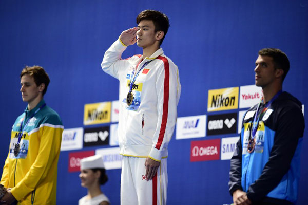 Ning Zetao is hot HOT in cold waters - World Of Buzz 19