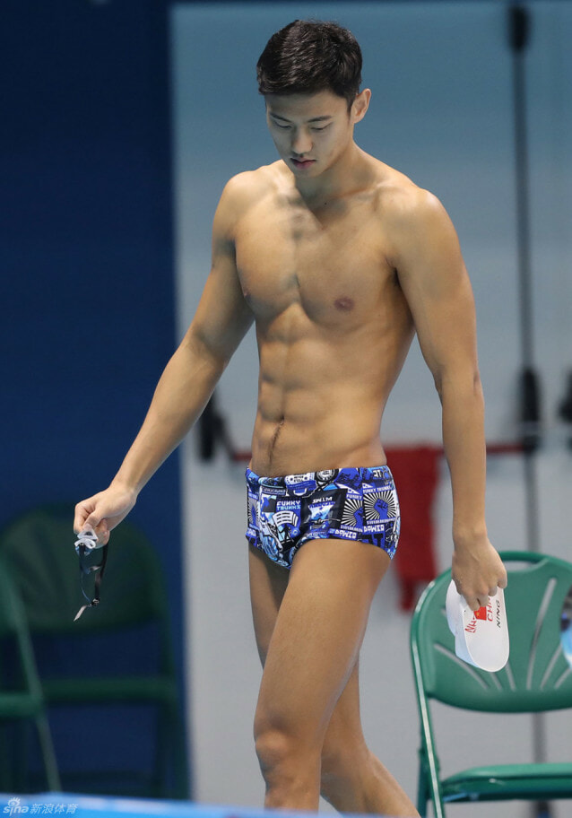 Ning Zetao is hot HOT in cold waters - World Of Buzz 2