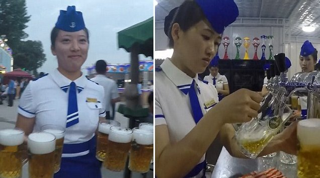 North Korea Bottoms Up To First Ever Beer Festival In Pyongyang - World Of Buzz