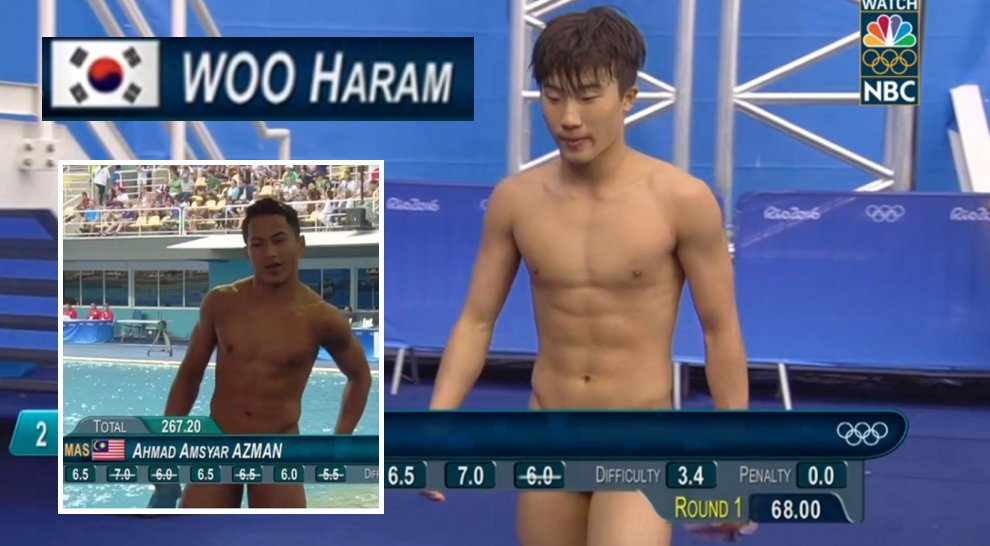 Olympic Divers Got Accidentally Censored, Makes You Wonder If They're Wearing Any Pants - World Of Buzz 26