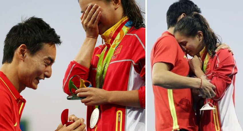 Rio Olympics 2016 Known For Love As It Witnesses Its Second Proposal - World Of Buzz 2