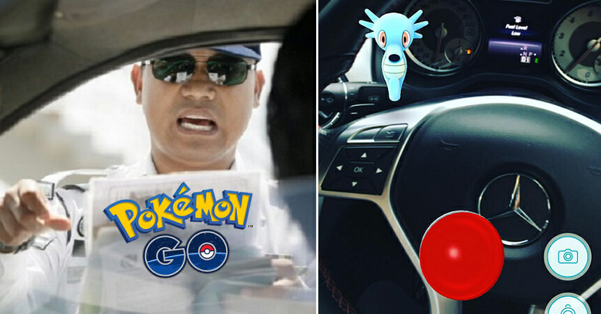 This Is It Guys: First Malaysian Crime Involving Pokémon Go Has Already Been Reported After A Man In Kuantan Played Game While Driving - World Of Buzz 1