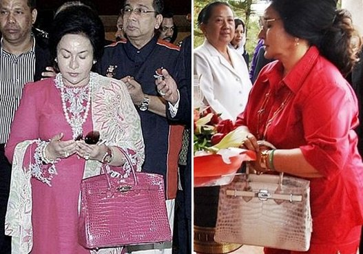 Wife of Singapore PM Lauded For Carrying RM45 Purse Made By Autistic Children When Visiting Obamas - World Of Buzz 1