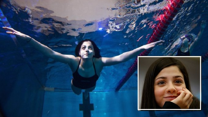 Yusra Mardini Once Swam For Her Life As A Refugee Now Swims At The Olympics - World Of Buzz 9