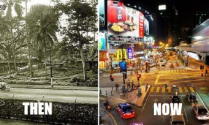 10 Beautiful Before-After Pictures of Klang Valley That Show You How Far We've Come - World Of Buzz