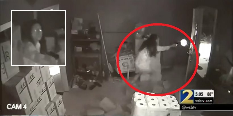 Asian Woman Went Full On 'Gungho' Mode As Home Burglars Breaks Into House - World Of Buzz 5