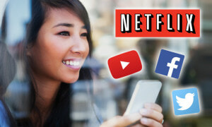 Enjoy Watching Netflix, Twitter, Facebook and More All Day with This Free UNLIMITED Mobile Video Streaming - World Of Buzz 7