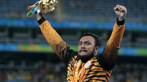 Malaysian Paralympic Gold Medalists Singing 'Negaraku' Will Break Your Heart - World Of Buzz 3