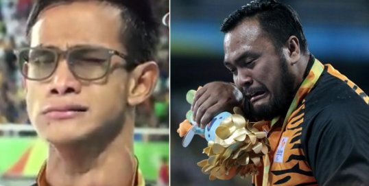 Malaysian Paralympic Gold Medalists Singing 'Negaraku' Will Break Your Heart - World Of Buzz 4