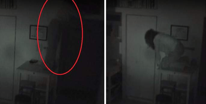 "Man Caught An ""Unwanted Guest"" Living In His Home In This Creepy Video - World Of Buzz 2"