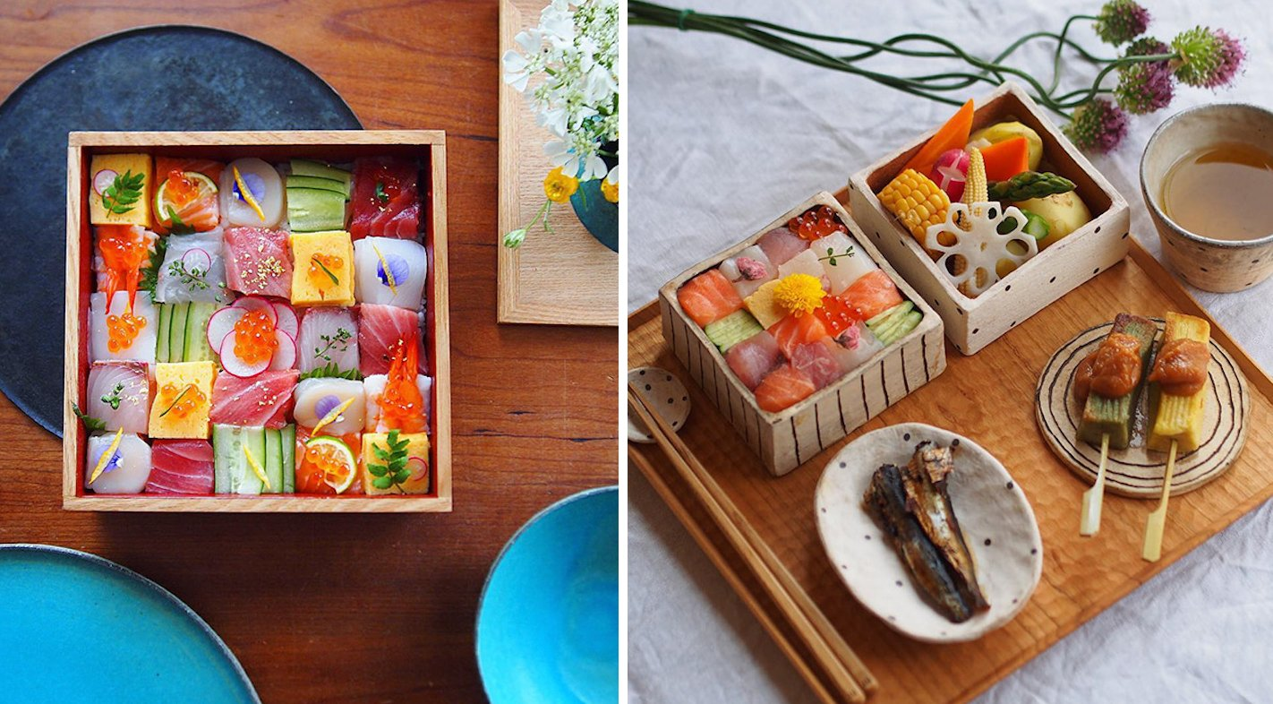 New Japanese Creation Known As 'Mosaic Sushi' is Probably The Most Beautiful Thing You've Seen - World Of Buzz