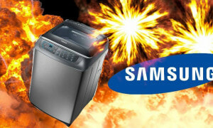 Samsung's Washing Machine Explodes, Asians Starts Conspiracy Theory about 'White' Sabotage - World Of Buzz