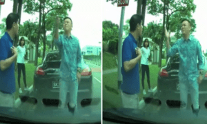 Singaporean Porsche Driver In The Wrong But Still Loudly Blamed The Innocent Driver - World Of Buzz 1