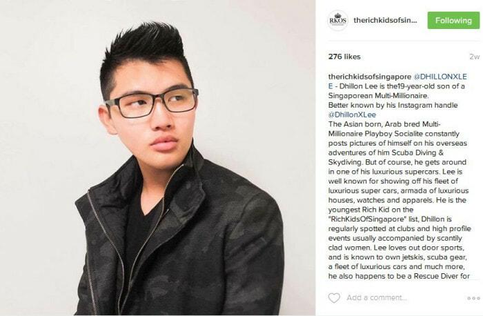 Singapore's Richest Teens On Instagram - World Of Buzz 4