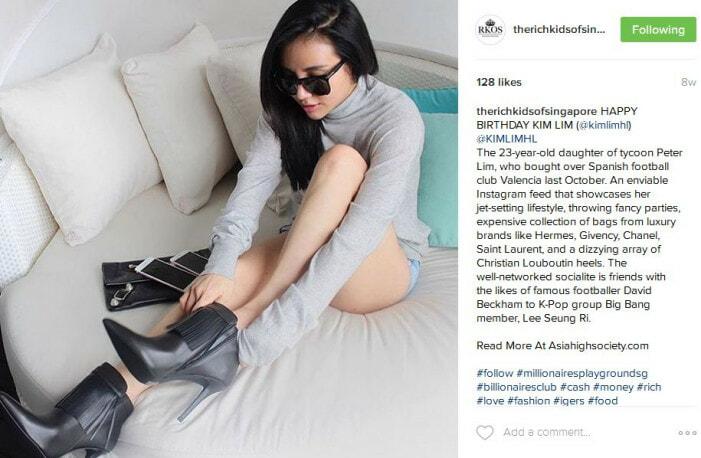 Singapore's Richest Teens On Instagram - World Of Buzz
