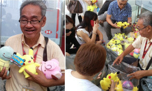 'Soft Toy Uncle' in Damansara Uptown Goes Viral, Overwhelmed by People's Support - World Of Buzz 9