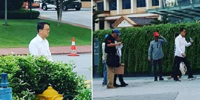 Sunway Group's Jeffrey Cheah Seen Picking Up Garbage Around His Township! - World Of Buzz 4