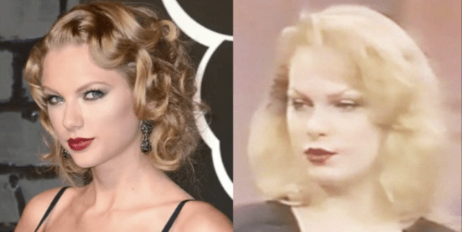 Taylor Swift compared to doppelganger Satanic leader Zeena Schreck - World Of Buzz 4