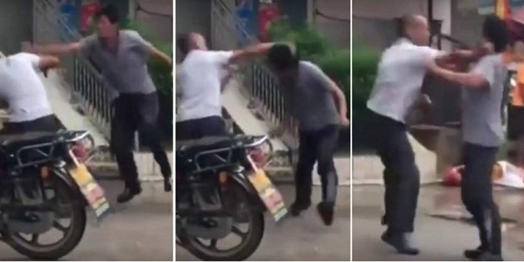 Two Men Did The Most Pariah Kung Fu You've Ever Seen and It's All Caught On Video! - World Of Buzz