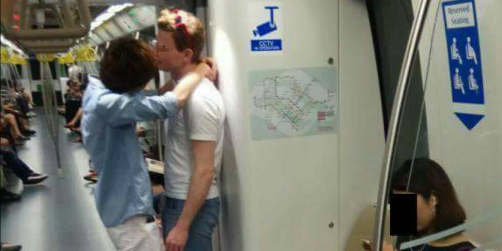 Angry Singaporean Lady Demands For 'sex Policemen' After Witnessing Gay Men Kissing In Train - World Of Buzz