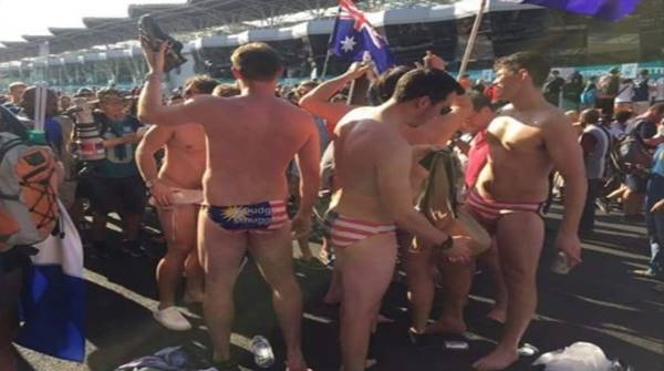 Australians Arrested After Exposing Themselves in 'Jalur Gemilang' Underwear - World Of Buzz