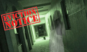 Authorities Gave Ghosts In School An Eviction Notice Asking Them To Leave The Premises - World Of Buzz 1