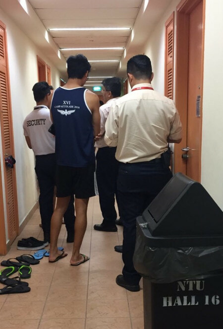 BREAKING: Singaporean Guy Suspected Of Secretly Taking Videos Of Dorm Guys While They Shower! - World Of Buzz 2