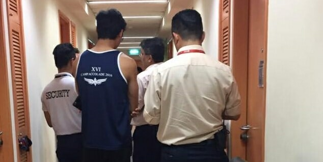 BREAKING: Singaporean Guy Suspected Of Secretly Taking Videos Of Dorm Guys While They Shower! - World Of Buzz