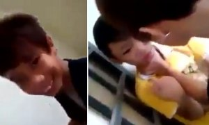 Bullying Video Leaked shows Malaysian schoolboy roughed up by 3 others - World Of Buzz 7