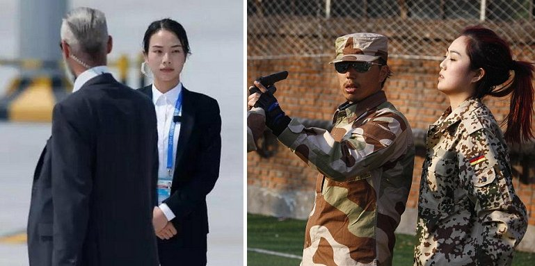 Check out the Female Chinese Bodyguard that becomes an Internet Sensation - World Of Buzz 8