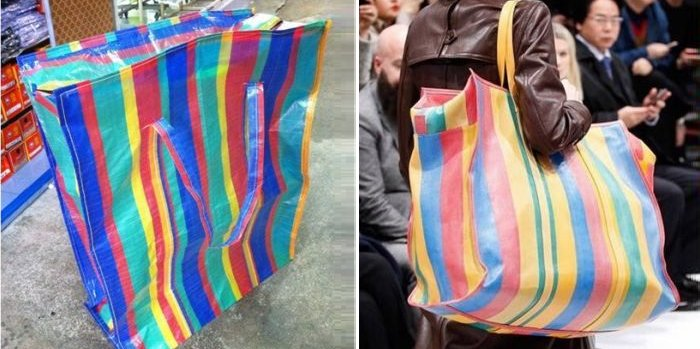 Famous Luxury Brand Features New Bag That Looks Awfully Like Asian Market Bags - World Of Buzz