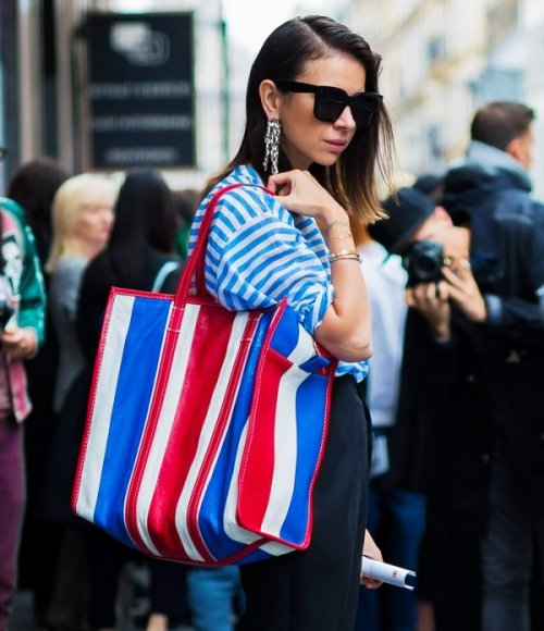 Famous Luxury Brand Features New Bag That Looks Hilariously Like Asian Market Bags - World Of Buzz
