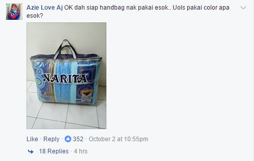 Famous Malaysian Aunties 'Beg Toto' Now High Fashion! Local's Reactions Are Hilarious! - World Of Buzz