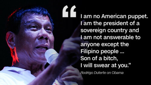 Filipino President Rodrigo Duterte Kills Thousands, Curses Obama And Cuts Ties With The USA - World Of Buzz 5