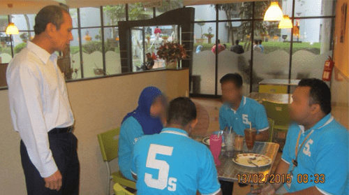 Government Workers Caught Having Breakfast And Shopping During Work Hours! - World Of Buzz