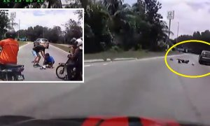Heartless Honda CR-V Driver Runs Over Elder Lady And Speeds Off! - World Of Buzz