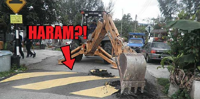 Indonesia's 'JAKIM' Issued Fatwa Against Speed Bumps Because They Are Apparently Haram - World Of Buzz 1