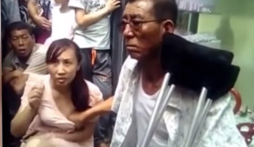 Man holds on to woman's BOOBS to read her Fortune - World Of Buzz 2