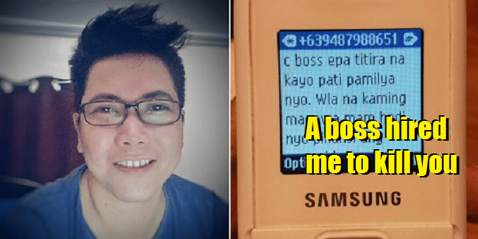 "New Scam reported from the Philippines to extort money by ""Hired Assassins"" - World Of Buzz 4"